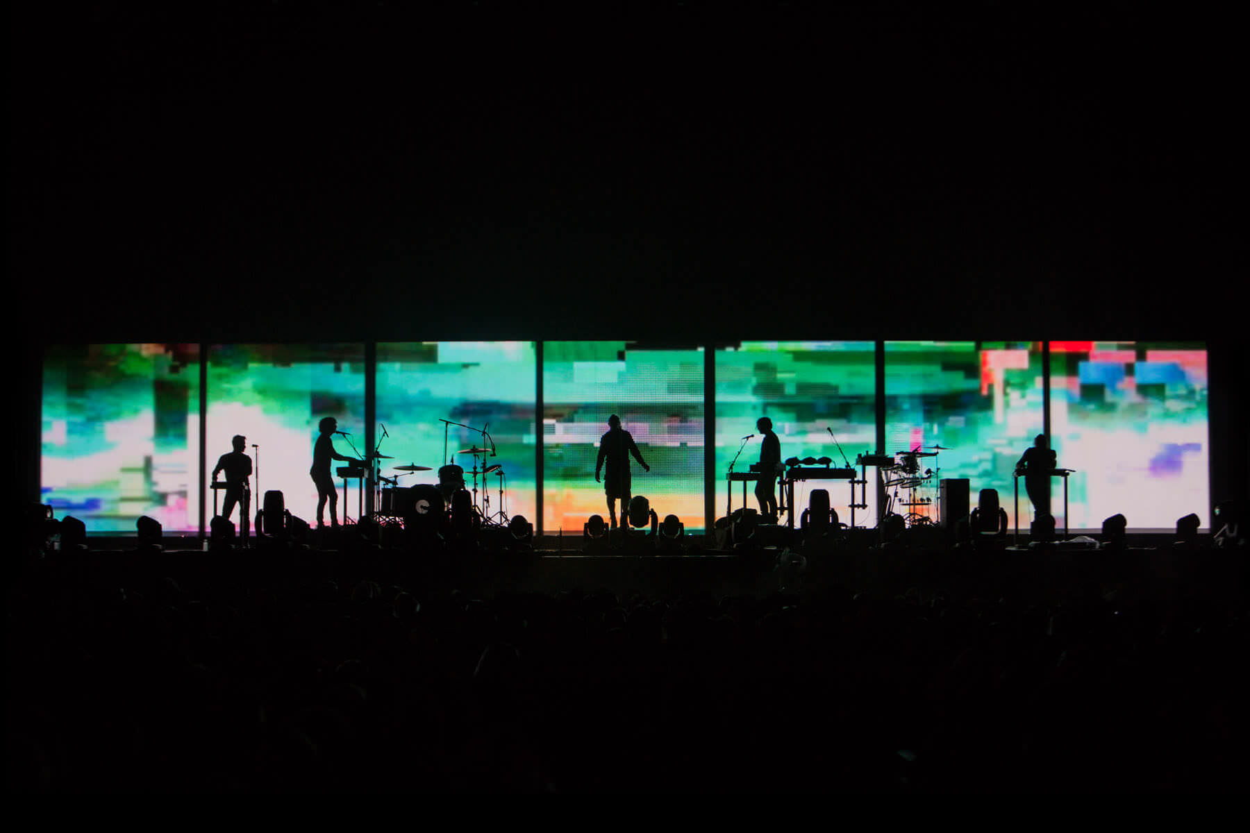 Tension Tour in Festivals, Nine Inch Nails | Moment Factory