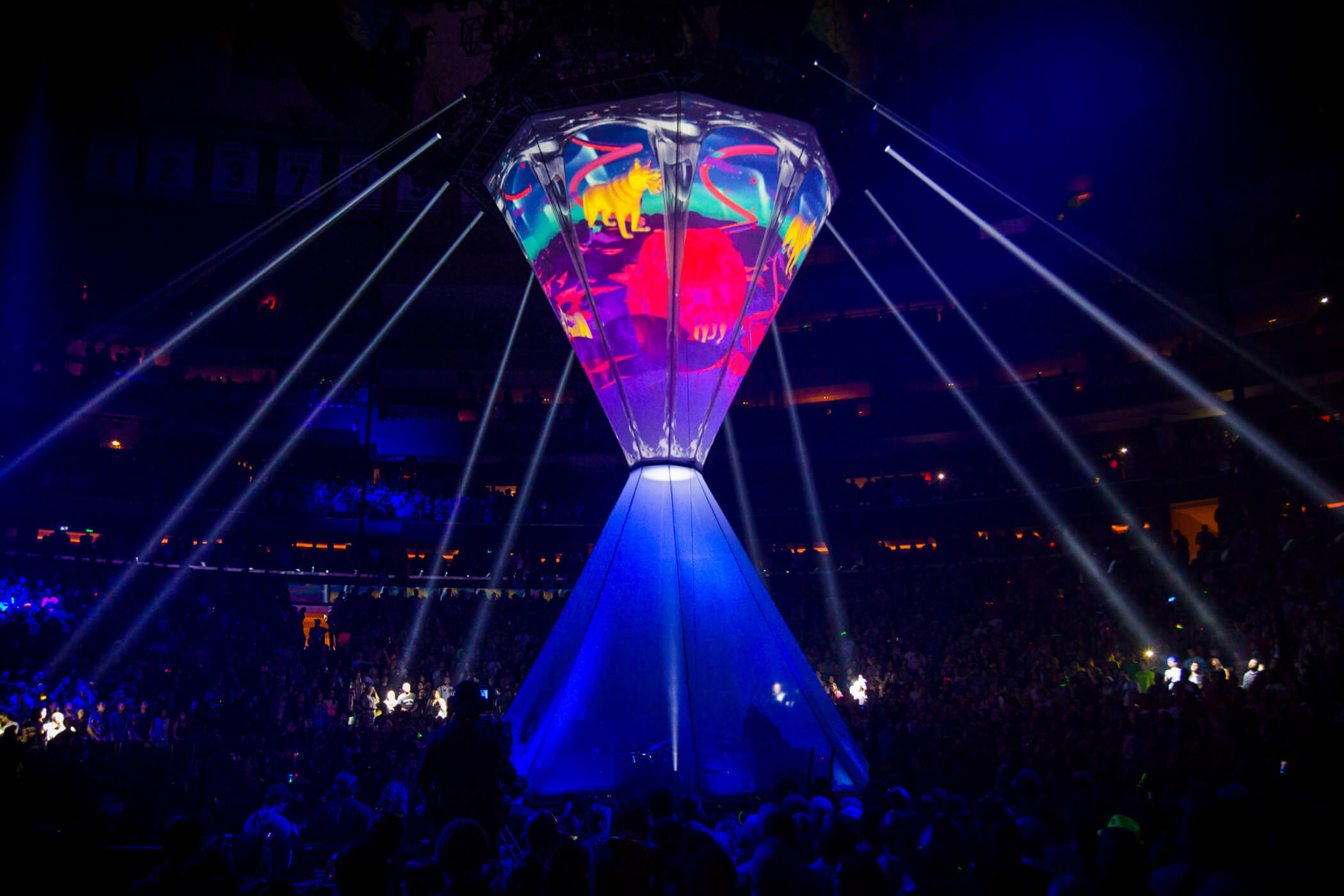 New Year 39 S Eve At Madison Square Garden Phish Moment Factory