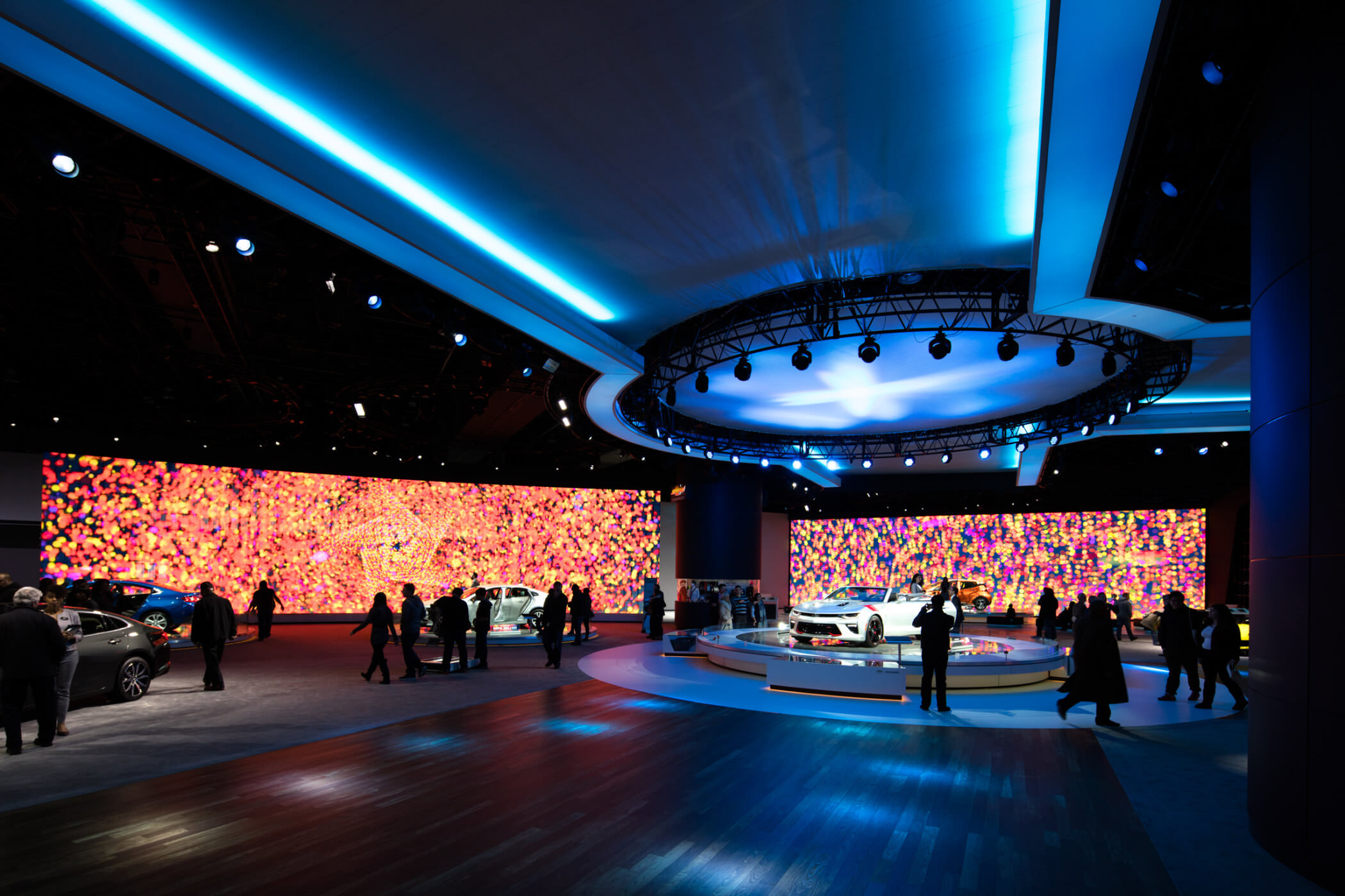 North American International Auto Show, Chevrolet | Moment ...