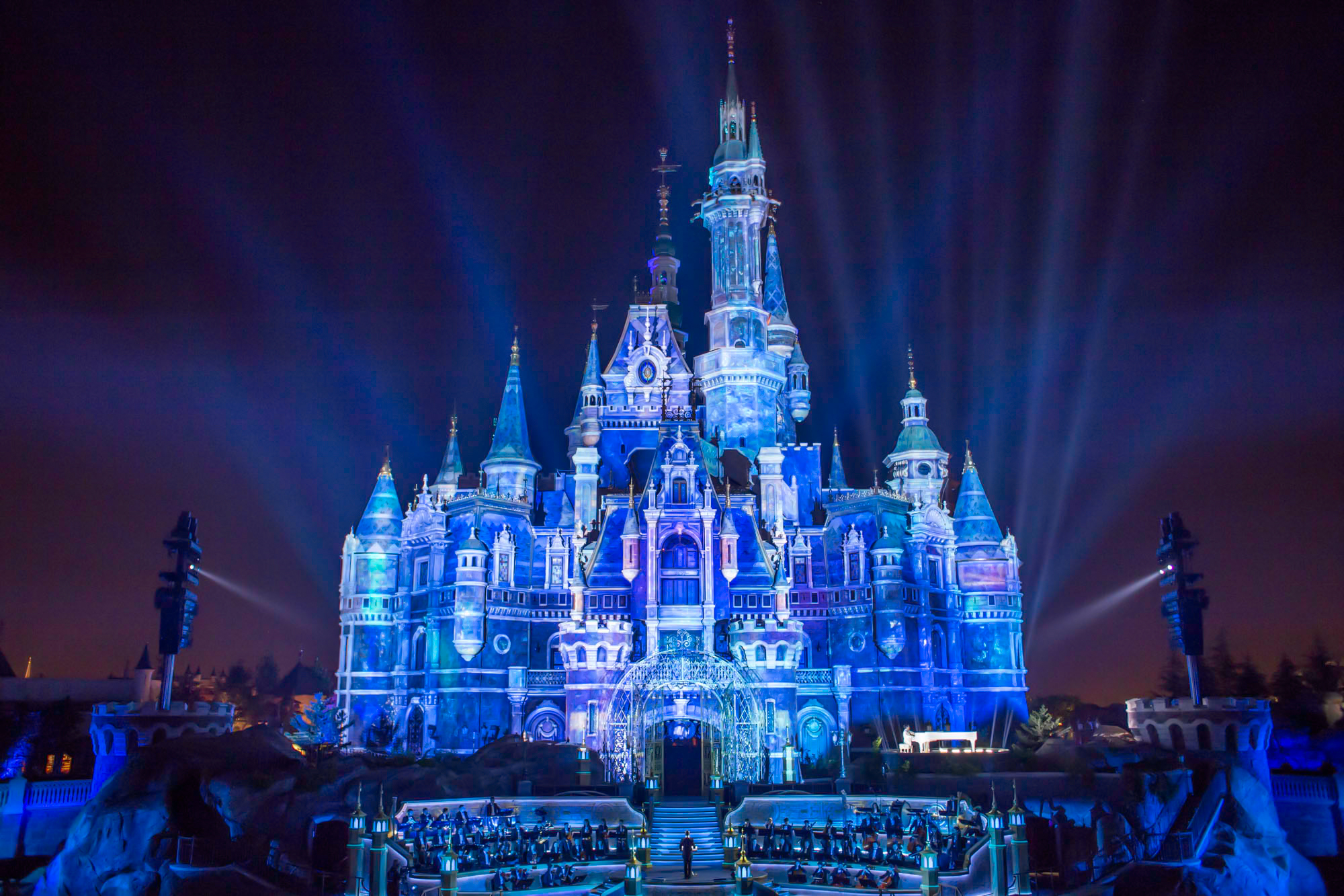 Grand Opening Ceremony Of The Largest Disney Castle In The