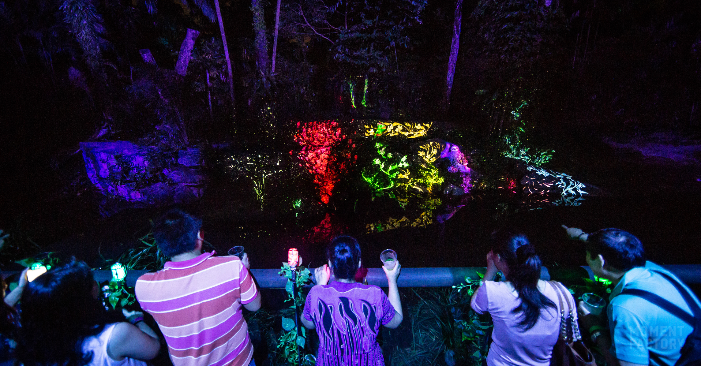 Rainforest Lumina A Collaboration Between Moment Factory
